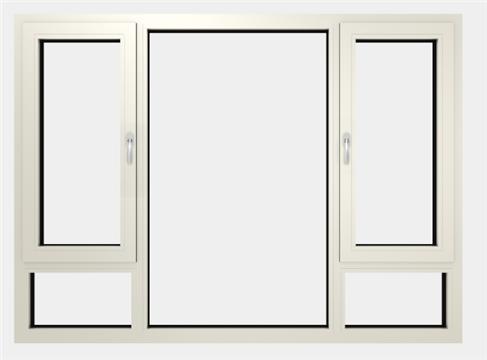 平开窗——内平开窗